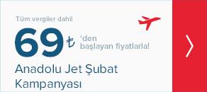 Anadolu Jet Şubat Kampanyası