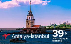 Antalya İstanbul Uçak Bileti