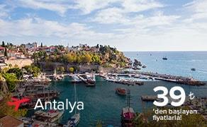 Antalya Uçak Bileti | En Uygun Antalya Bileti : plusFLY.com