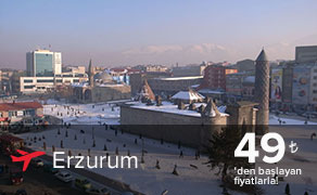 Erzurum Uçak Bileti | En Uygun Erzurum Bileti Fiyatları : plusFLY.com