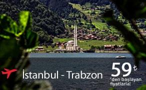 istanbul trabzon uçak bileti