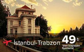 İstanbul Trabzon Uçak Bileti