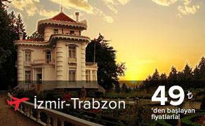 İzmir Trabzon Uçak Bileti