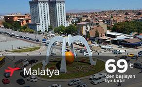 Malatya Uçak Bileti | En Uygun Malatya Bileti Fiyatları plusFLY.com