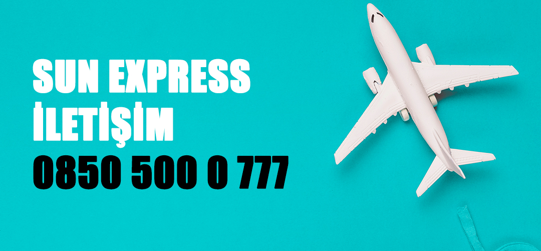 sun express iletişim