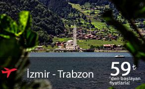 İzmir Trabzon Uçak Bileti | En Uygun Uçak Bilet Fiyatları