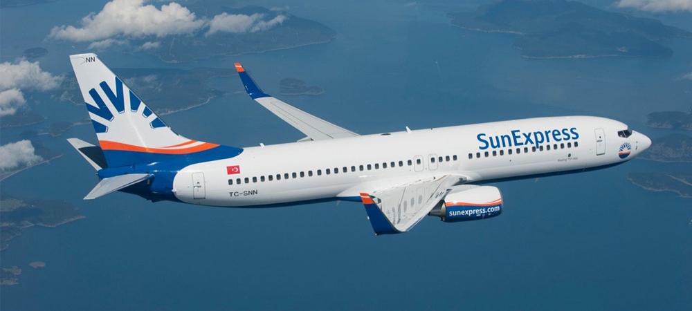 Sun Express Hava Yollarında Yaz Uçuşları 49.99 TL'den Başlayan Fiyatlarla