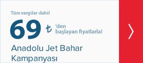 Anadolu Jet Bahar Kampanyası | Anadolu Jet Uçak Bileti