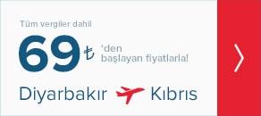 Diyarbakır Kıbrıs Uçak Bileti Alacaklara Müjde!