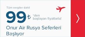 Onur Air Rusya Seferleri