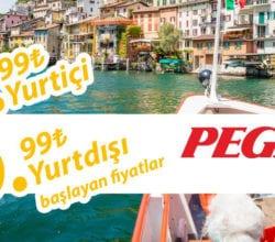Pegasus Kış Kampanyası ile Kış Sezonu Açıldı! 29,99 TL'den Başlayan Fiyatlarla