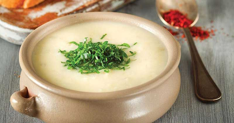 Patatesli Kereviz Çorbası
