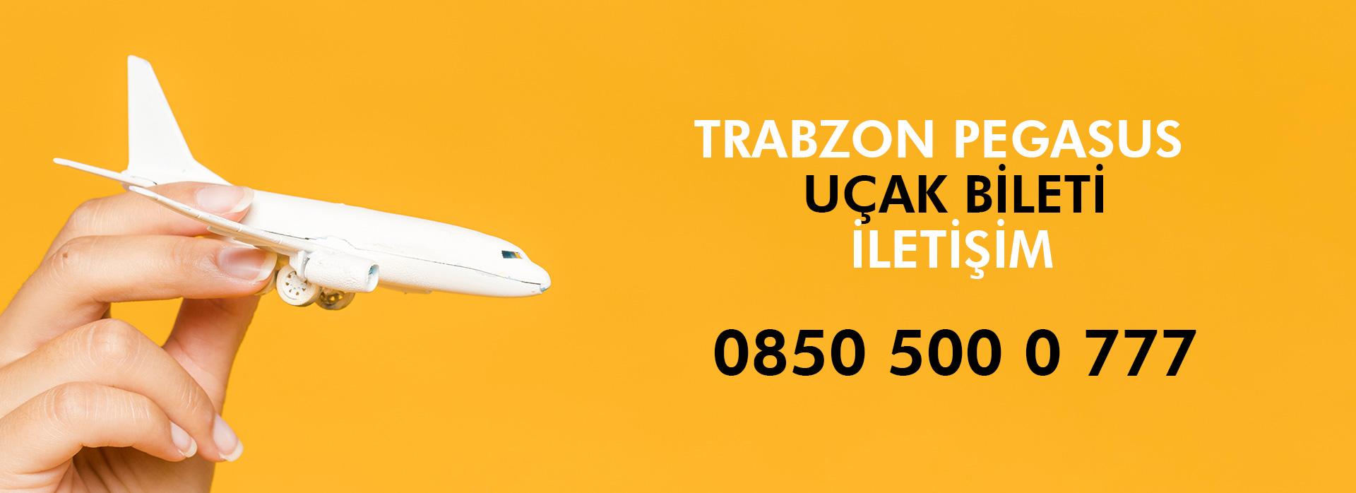 trabzon pegasus telefon numarası