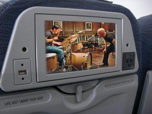 uçakta film
