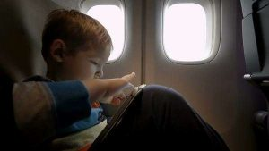 uçakta oyun