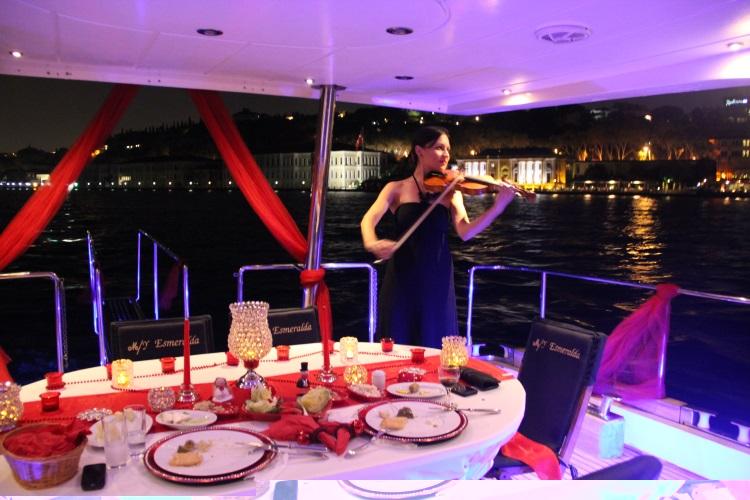 teknede evlilik teklifi