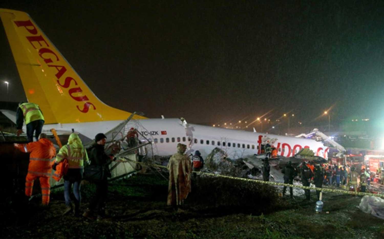 pegasus uçak kazası