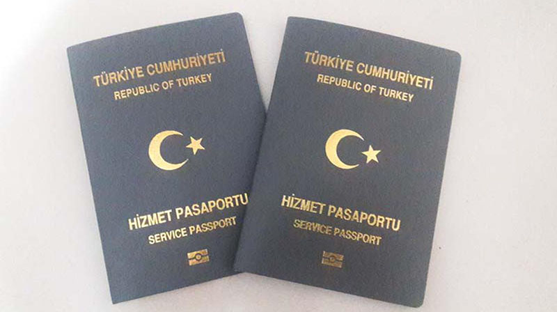 gri hizmet pasaport