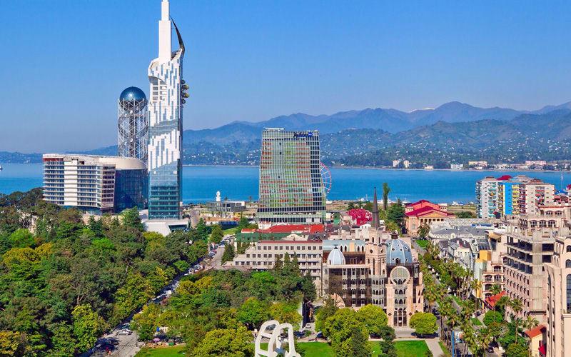 gürcistan manzarası