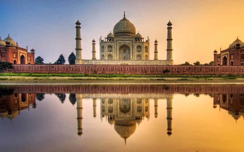 hindistan manzarası
