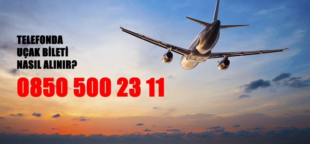 telefonda uçak bileti nasıl alınır
