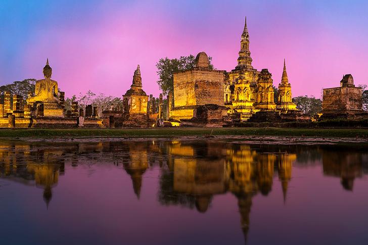 Sukhothai'de Tuk Tuk Atmak