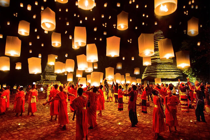 tayland fener festivali
