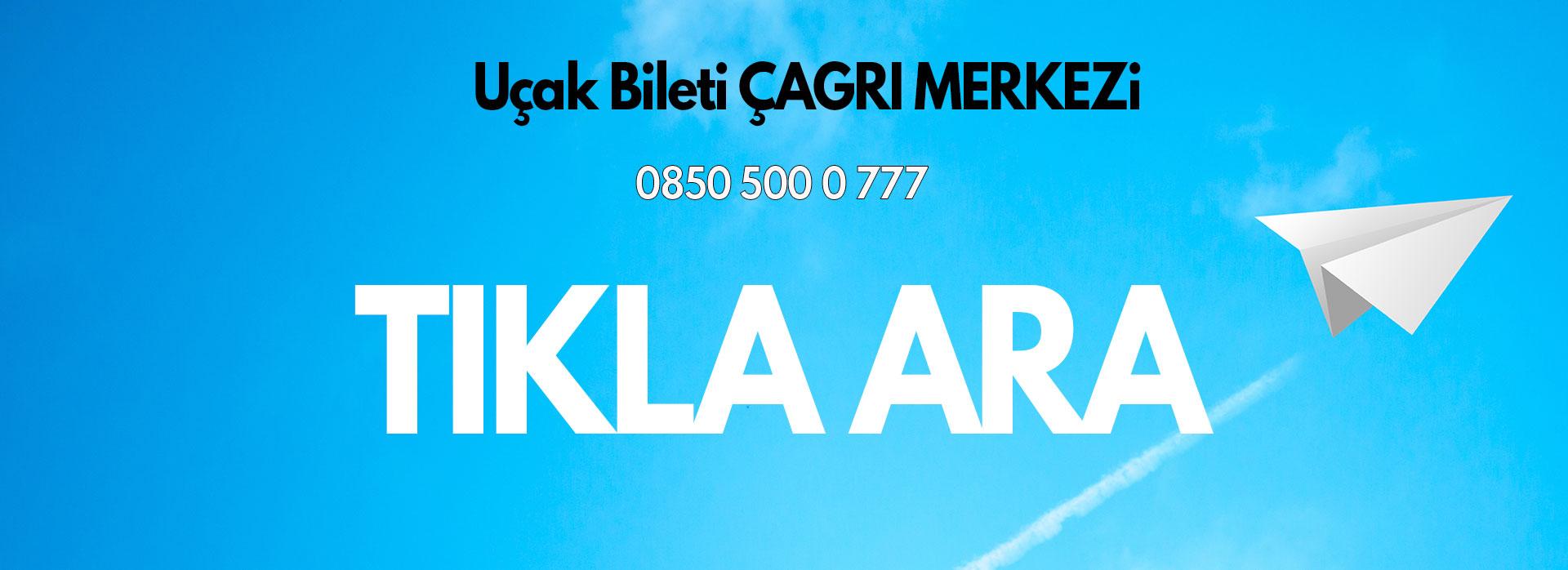 uçak bileti iletişim