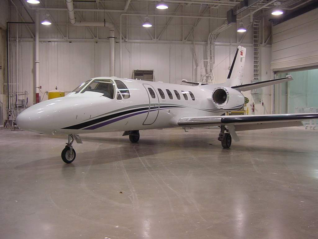 özel jet citation bravo