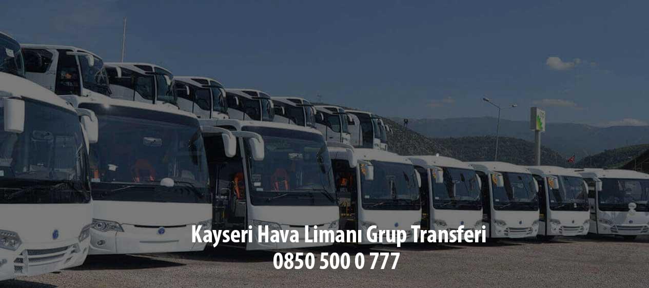 kayseri hava limanı grup transferi