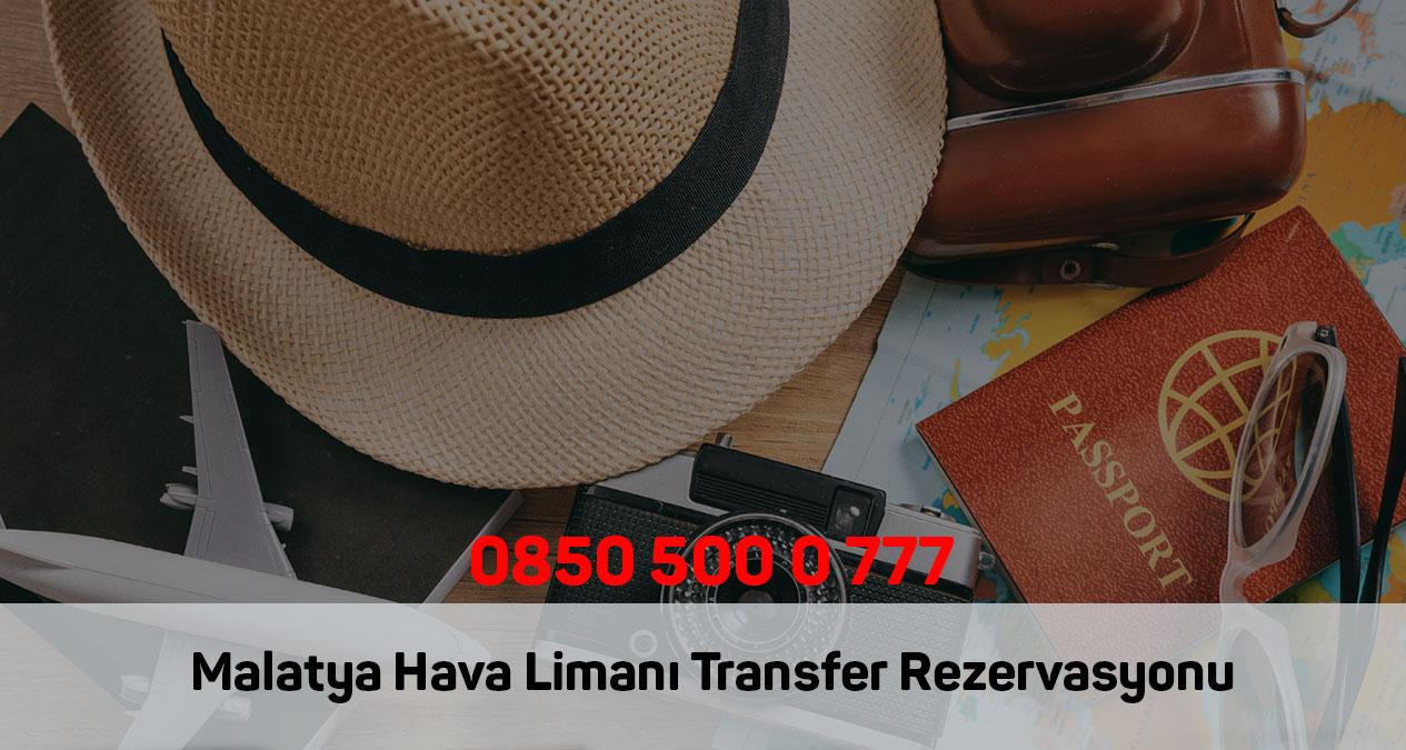 malatya hava limanı transfer rezervasyonu