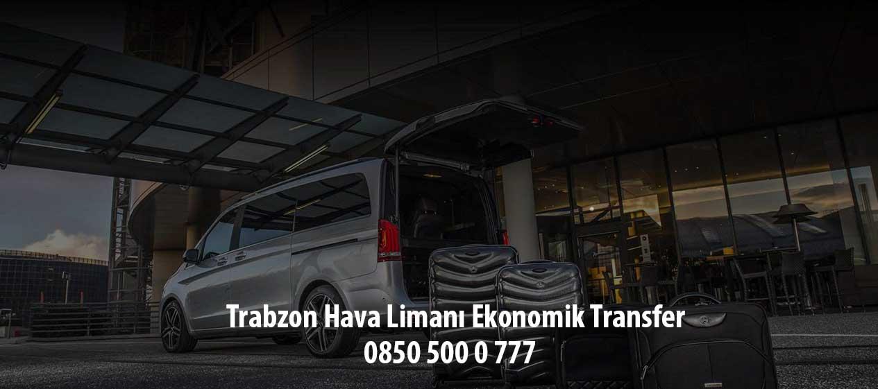 trabzon hava limanı ekonomik transfer