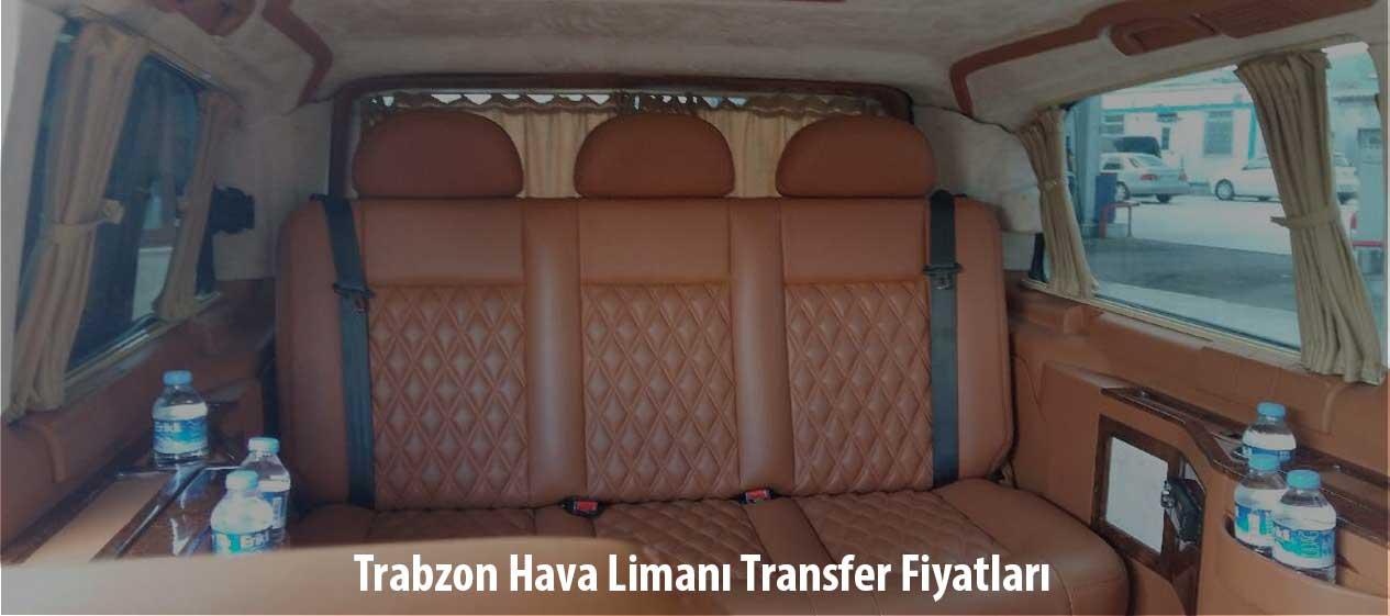 trabzon hava limanı transfer fiyatları