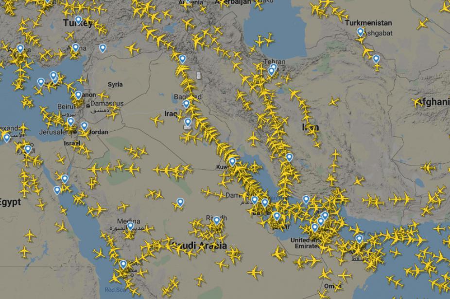 thy uçak takibi