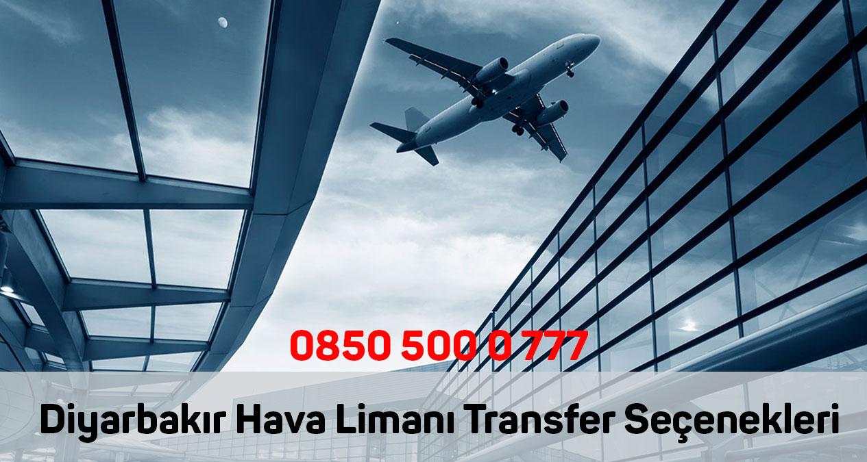 diyarbakır hava limanı transfer seçenekleri